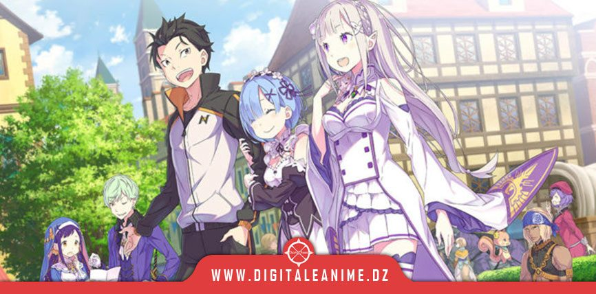 Muse Asia Streams Re: ZERO Director's Cut, Scar on the Praeter Anime