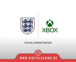 Xbox Partenaire de jeu officiel d'Angleterre Football