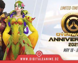 L'anniversaire d'Overwatch 2021 est maintenant en ligne