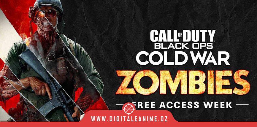 Zombies le prochain chapitre et la semaine d'accès gratuit dans COD