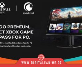 Crunchyroll offre 3 mois gratuits les membres Xbox GP