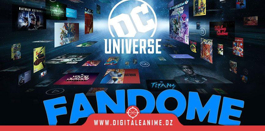DC FanDome Annonces et bandes-annonces
