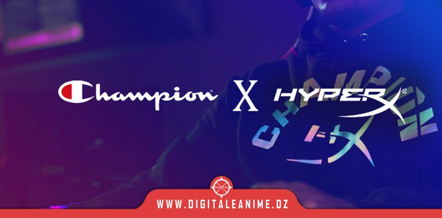 Glow in the Dark Apparel Collection By HyperX x Champion Athleticwear