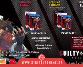 Guilty Gear -Strive- est disponible en pré-commande numérique