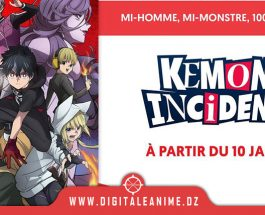 Kemono Incidents en simulcast sur Wakanim
