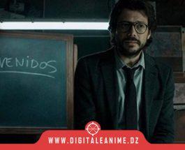 La Casa de Papel Netflix tease une scène avec El Profesor