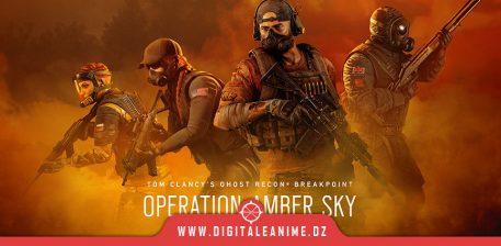 Rainbow Six Siege Operation Amber Sky arrive
