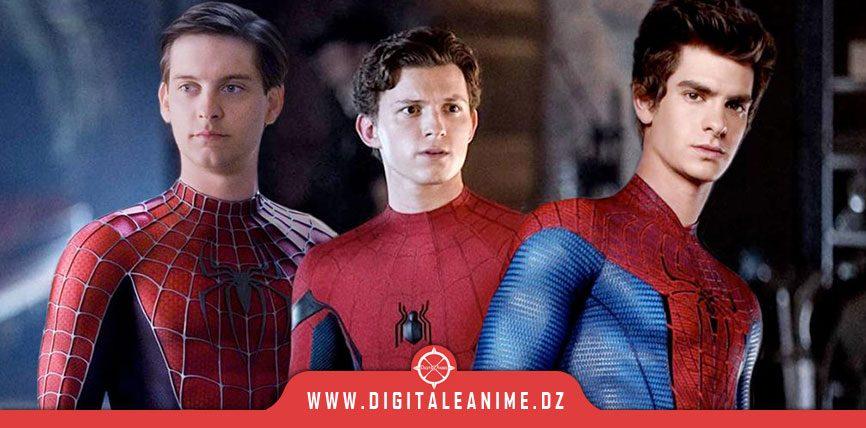 Spider-Man 3 SONY S'EXPRIME SUR LE RETOUR DE TOBEY ET ANDREW