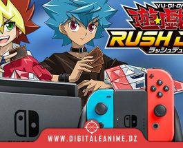 Yu-Gi-Oh! Rush Duel Lancement du jeu sur Switch